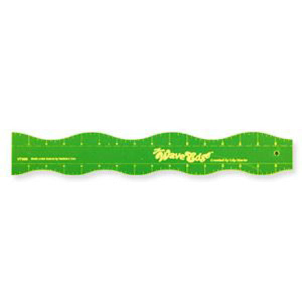 "WAVE EDGE RULER 16"" by Lily Marie"