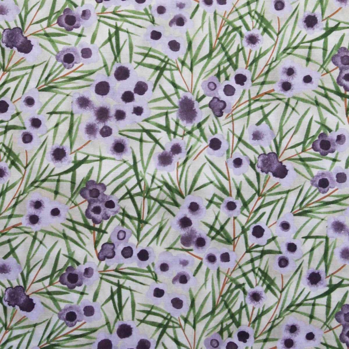 WAX FLOWER MAUVE by Australian Aboriginal Artist NATALIE RYAN