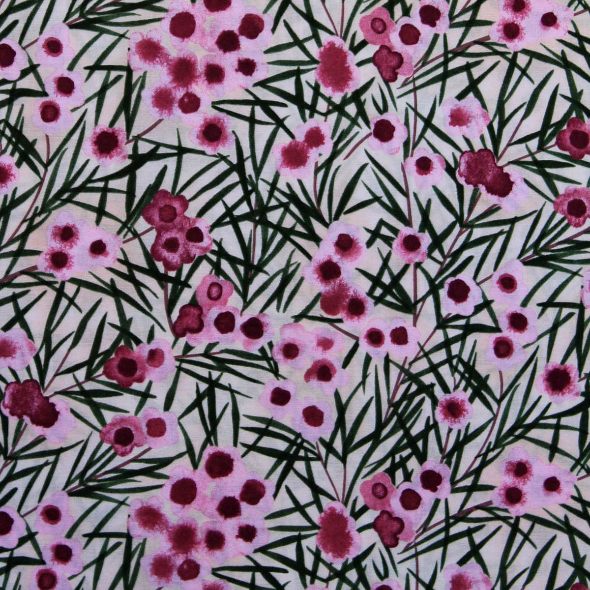 WAX FLOWER PINK by Australian Aboriginal Artist NATALIE RYAN