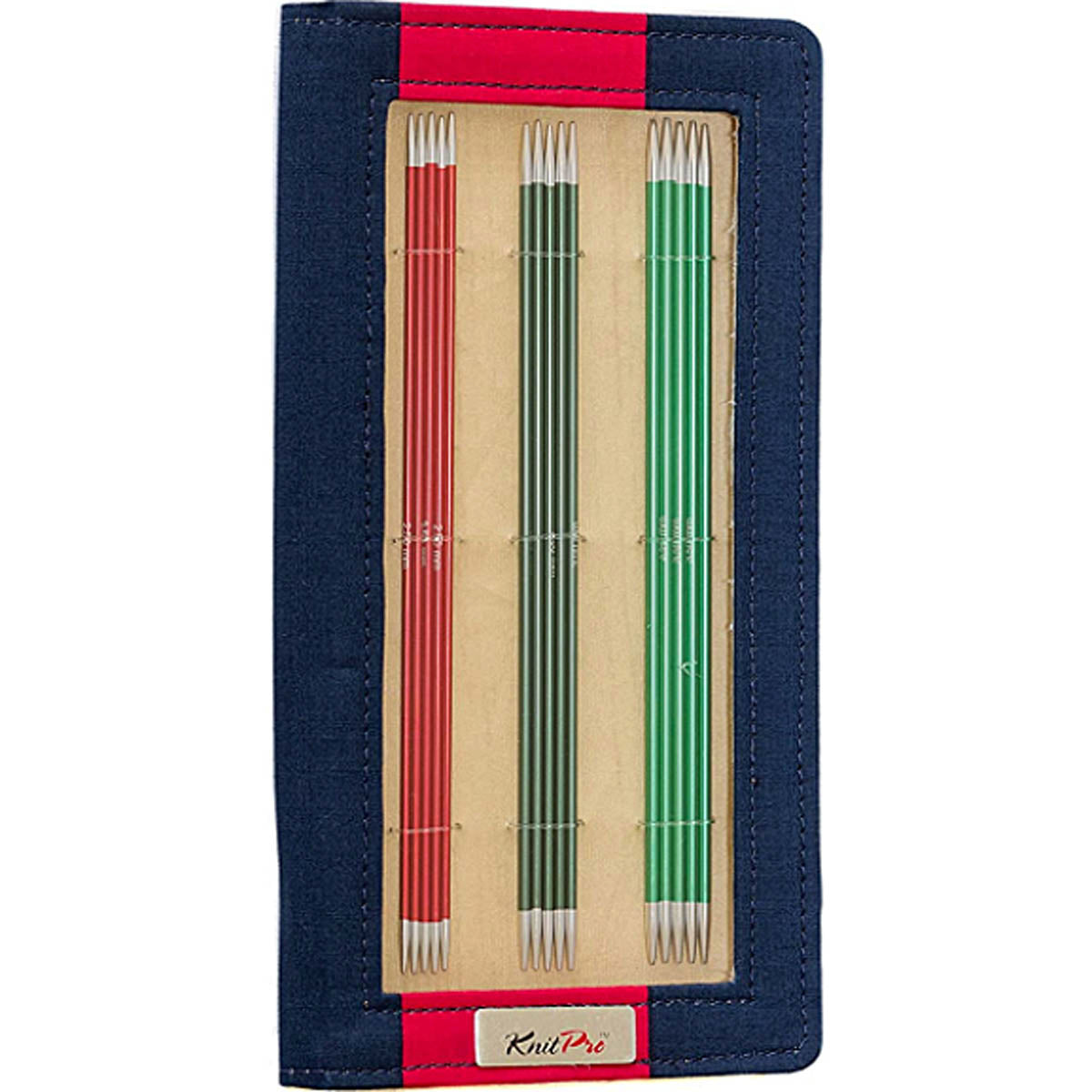 ZING Double Point Set of Knitting Needles 15cm or 20cm Short for Small Projects