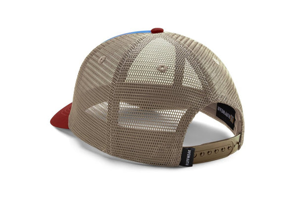Ruffwear Artist Series Custom & Quencher Bowl & Trucker Hat - Mount Bailey