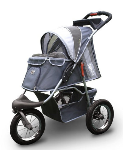 *Buggy Comfort Pet Stroller with Air Tyres (inc Raincover)