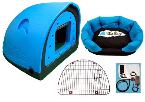 Beds - PetzPodz - Luxury Revolution Pack - The Den For Your Dog!