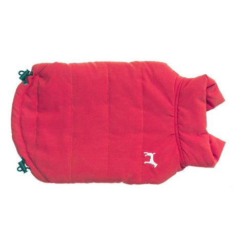Coats - Red Fleece Lined Gilet