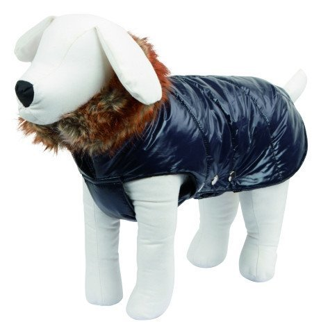 Coats - Trendy Dog Jacket With Fur Collar - Kitzbuhel