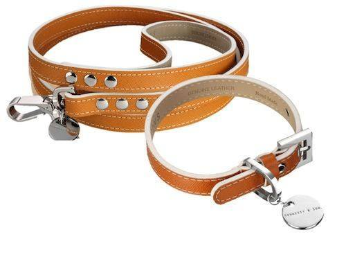 Collars - Italian Saffiano Leather Collar
