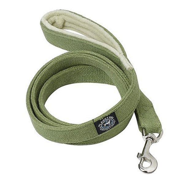 Planet Dog Cozy Hemp Leash w/ Fleece Lined Handle - Sale!