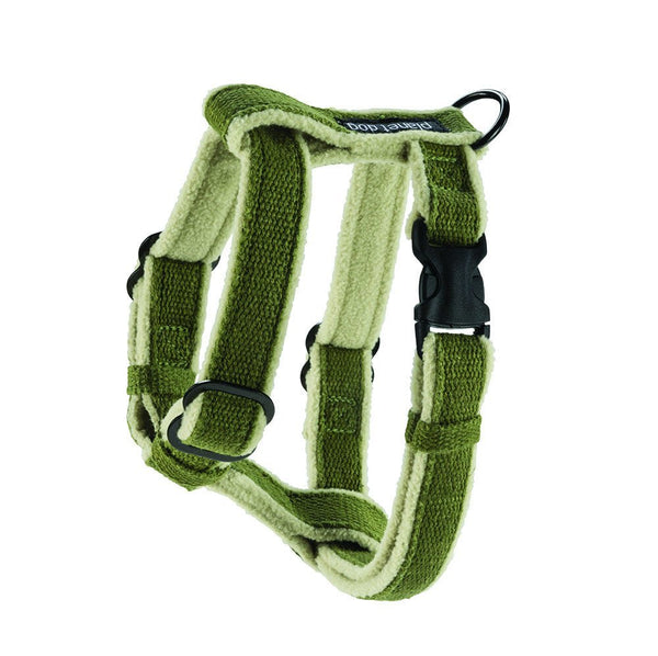 Leads & Harnesses - Cozy Hemp Adjustable Harness