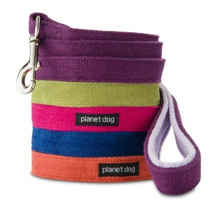 Leads & Harnesses - Cozy Hemp Leash W/ Fleece Lined Handle