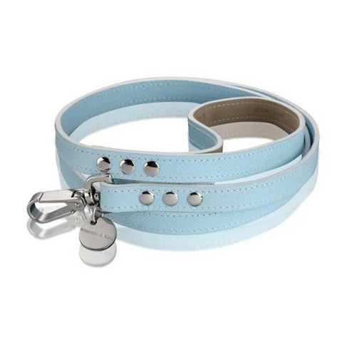 Leads & Harnesses - Italian Saffiano Leather Dog Lead