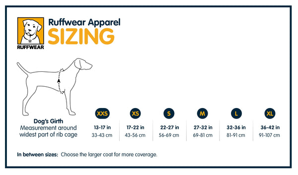 New Ruffwear Cloud Chaser Soft Shell Jacket - Sale!