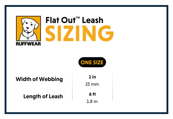 Ruffwear Flat-Out Leash - Sale!