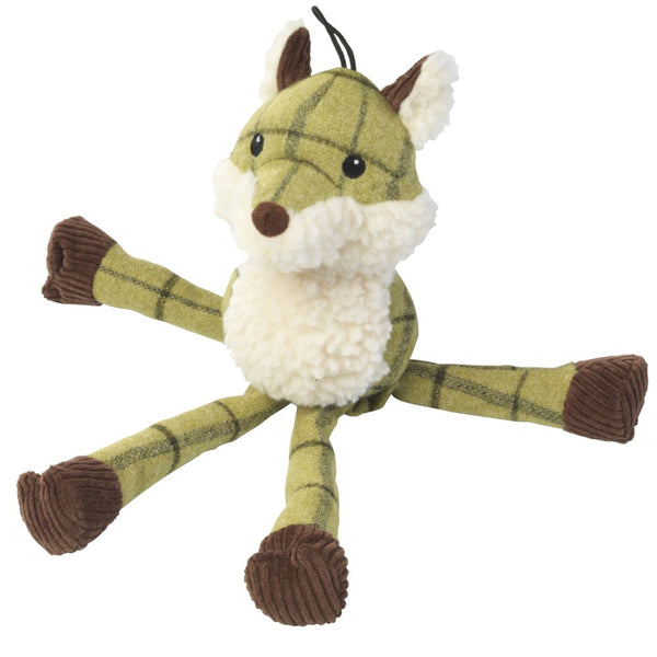 Toys - Tweed Plush Long Legs Fox