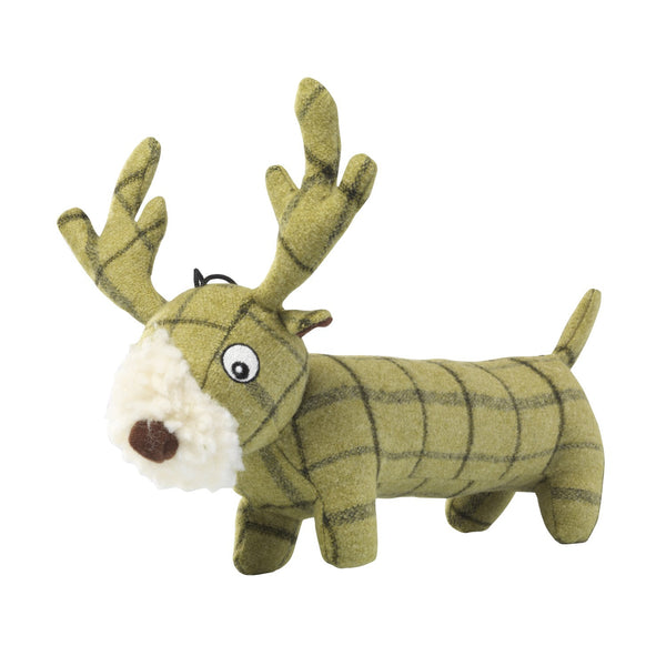 Toys - Tweed Plush Long Stag
