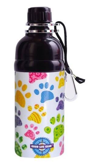 Water Bottles - Pet Water Bottle - Paws (500ml)