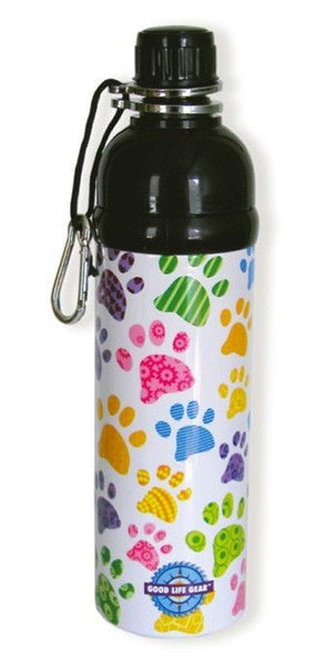 Water Bottles - Pet Water Bottle - Paws (750ml)