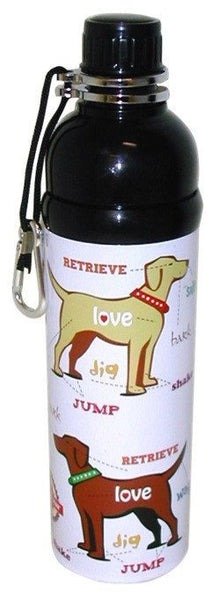 Water Bottles - Pet Water Bottle - Puppy Love (750ml)