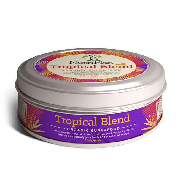 Tropical Blend Powder - 3 Exotic Fruits in 1 Shake