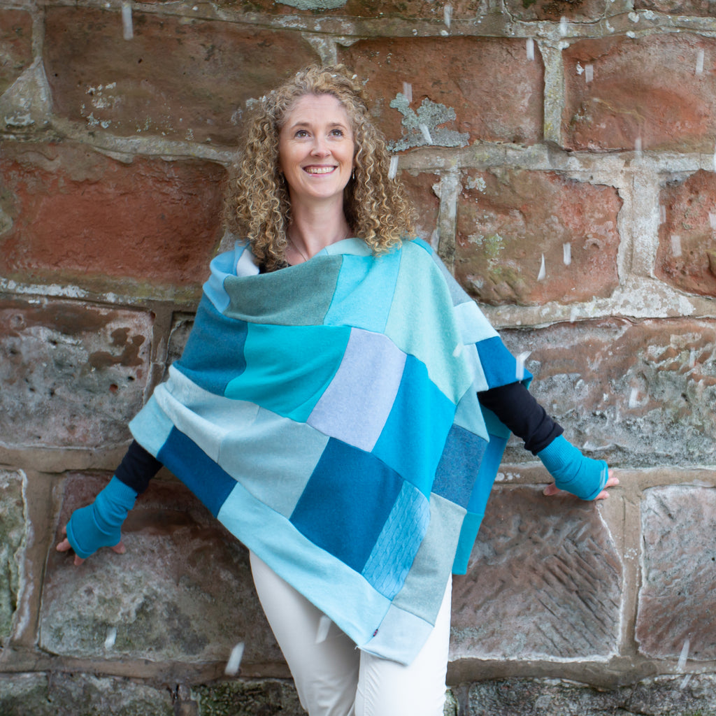 Your Cashmere Poncho Made To Order