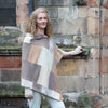 Beautiful Turtle Doves Cashmere Poncho