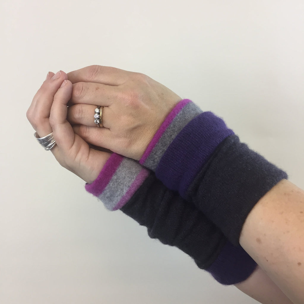 Limited Edition Cashmere Wrist Warmers by Turtle Doves