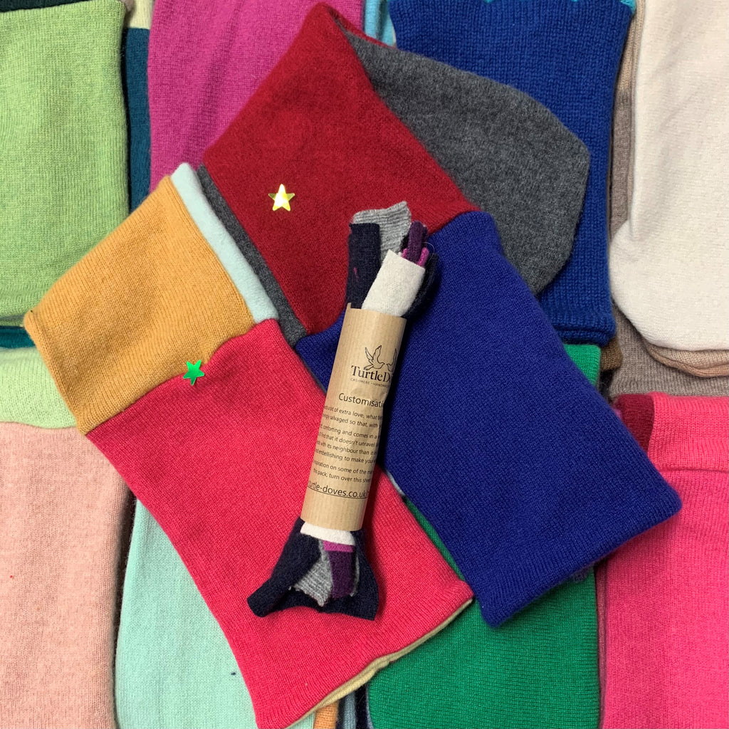 SECONDS - Bed Sock 'Make do and mend' Pack