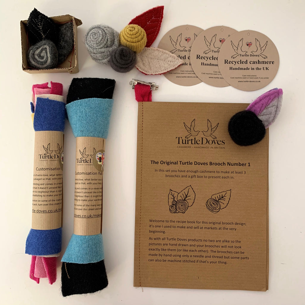 Cashmere Craft Pack - Brooch No.1