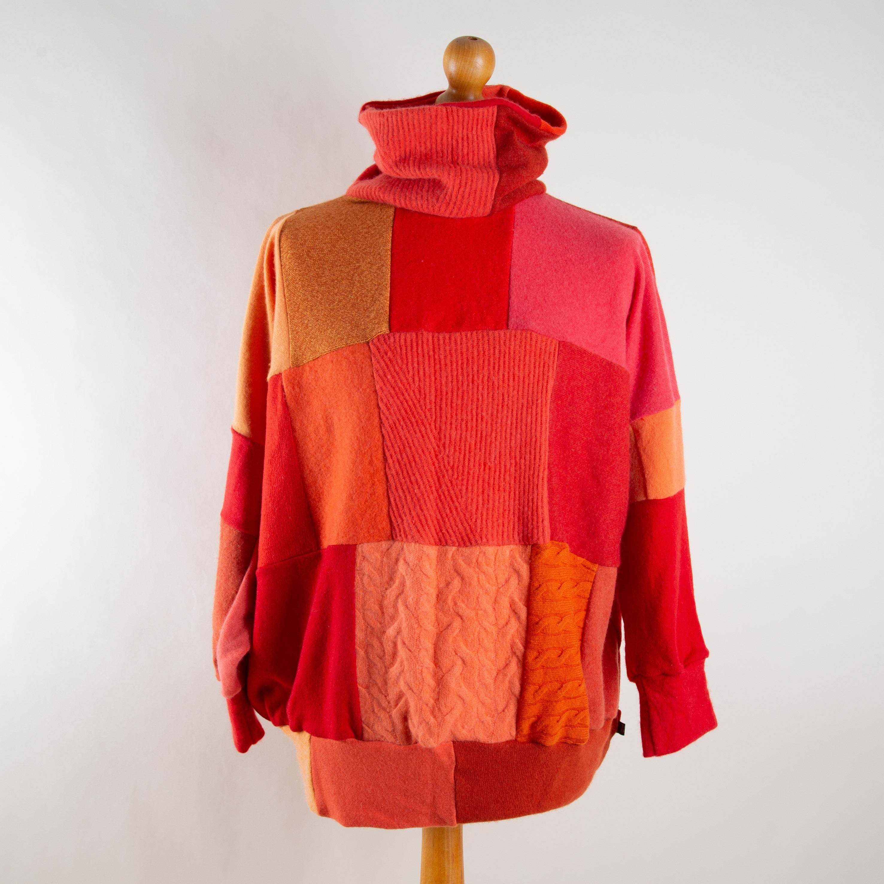138994063fba12 Clementine Mix Cashmere Roll Neck Jumper by Turtle Doves