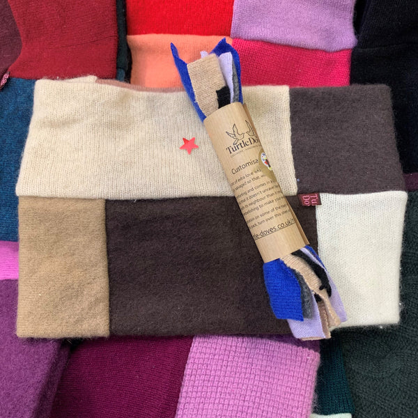 SECONDS - Neckwarmer 'Make do and mend' Pack