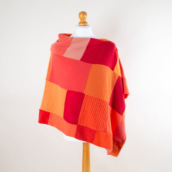 Clementine Cashmere Poncho by Turtle Doves