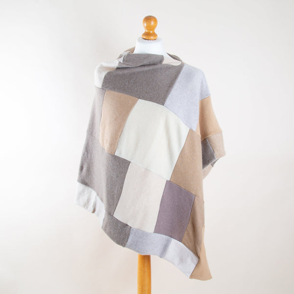 Cashmere Poncho by Turtle Doves