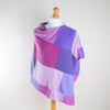 Pinks & Purples Cashmere Poncho by Turtle Doves