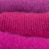 Dusky Magenta Cashmere Fingerless Gloves