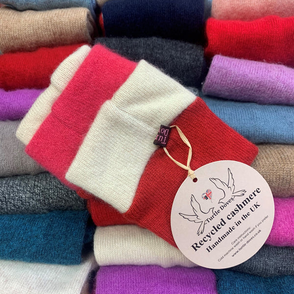 Signature Cashmere Wrist Warmer [Discount Shown At Checkout!]