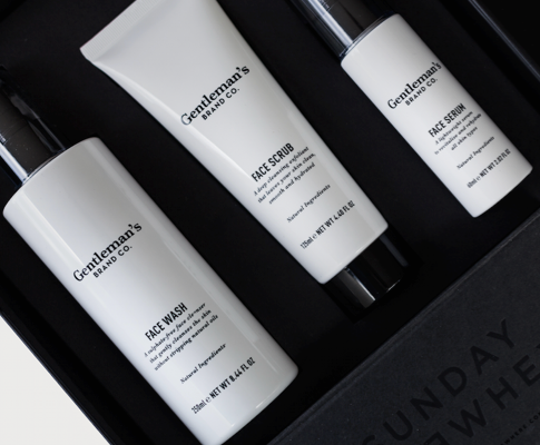 How to use the Gentleman's Brand Co. Face Essentials kit.