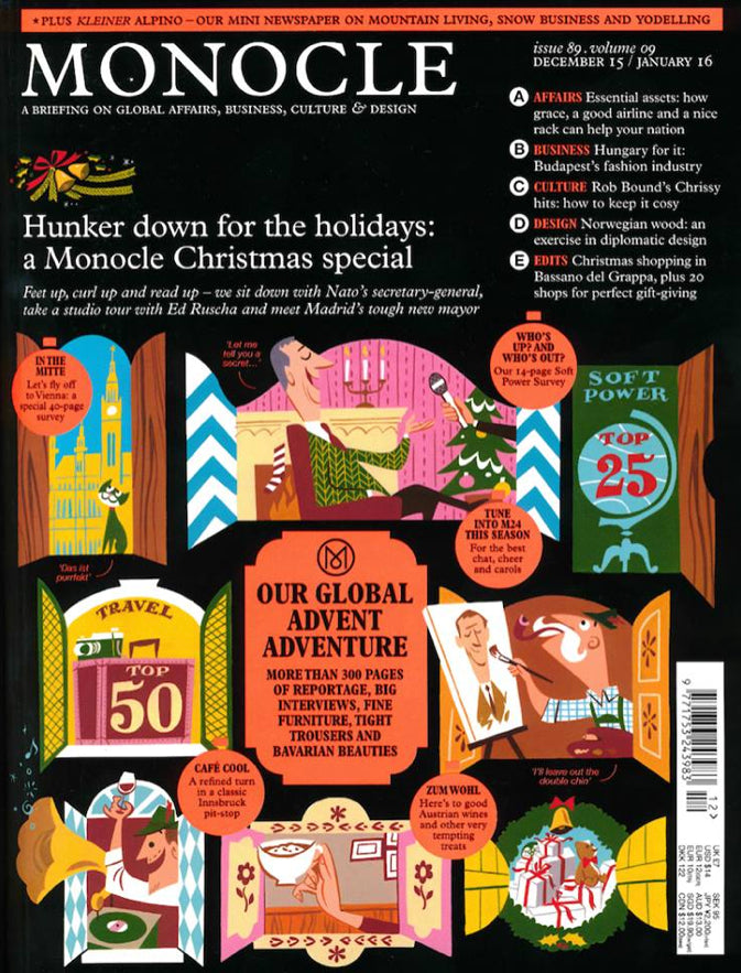 Monocle | Issue 89 December 2015