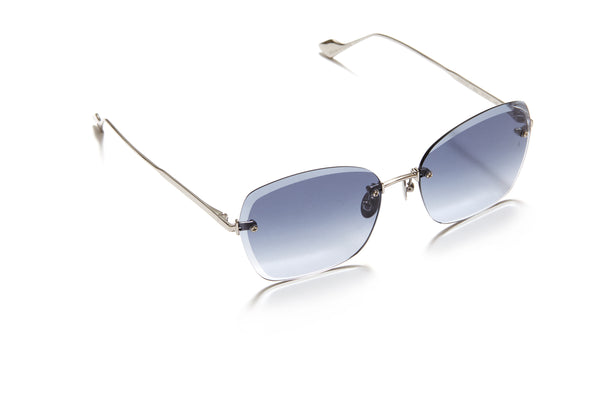 Sunday Somewhere Ava in Silver Women's Rimless Metal Sunglasses
