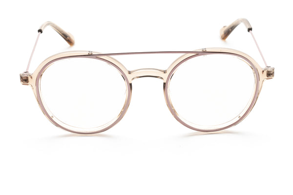 Bartolomeo round optical in brown