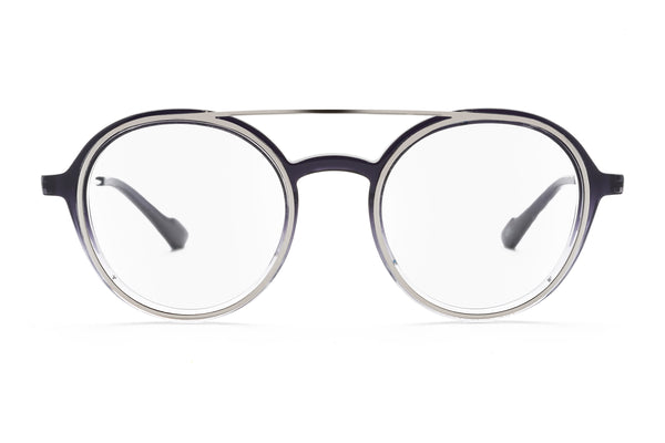 Bartolomeo round optical in grey