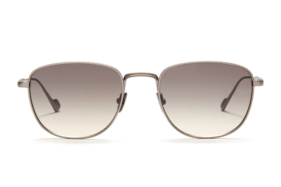 Sunday Somewhere Cam in Gun Unisex Metal Sunglasses