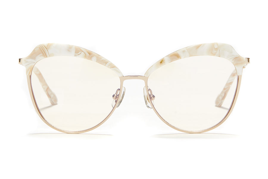 Sunday Somewhere Dottie in Mother of Pearl Women's Oversized Combination Optical