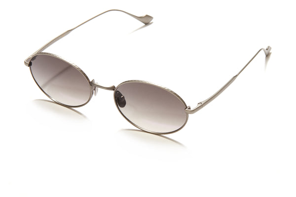 Sunday Somewhere Jax in Antique Gun Unisex Round Metal Sunglasses