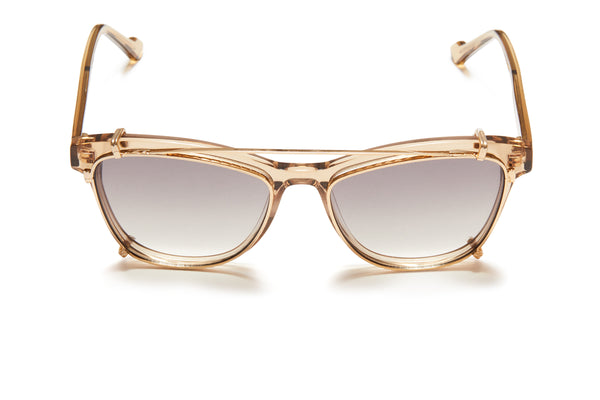 Sunday Somewhere Mary Champagne Women's Acetate Optical Frame