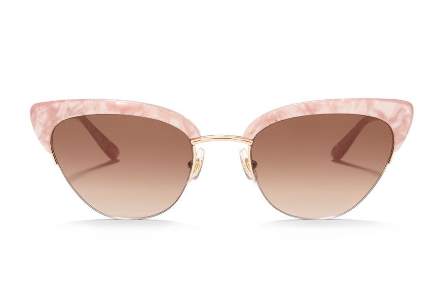 Sunday Somewhere Pixie in Pink Women's Cat Eye Sunglasses