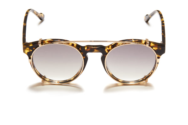 Sunday Somewhere Rio Tokyo Tort Unisex Round Acetate Optical Frames