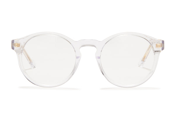 Sunday Somewhere Rio Crystal Unisex Round Acetate Optical Frames