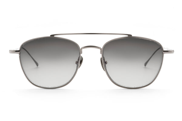 Romeo aviator sunglasses in gunmetal