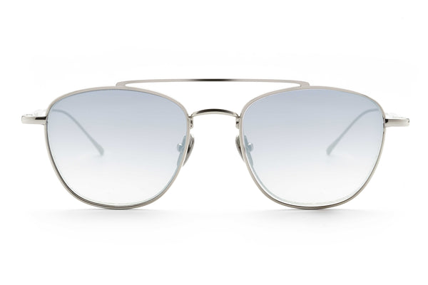 Romeo aviator sunglasses in light blue