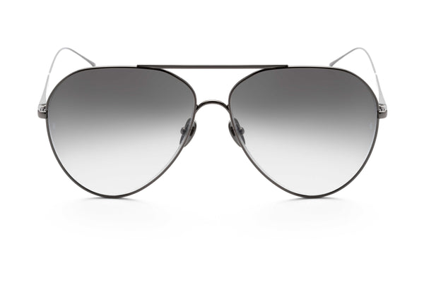 Ruben aviator sunglasses in gunmetal