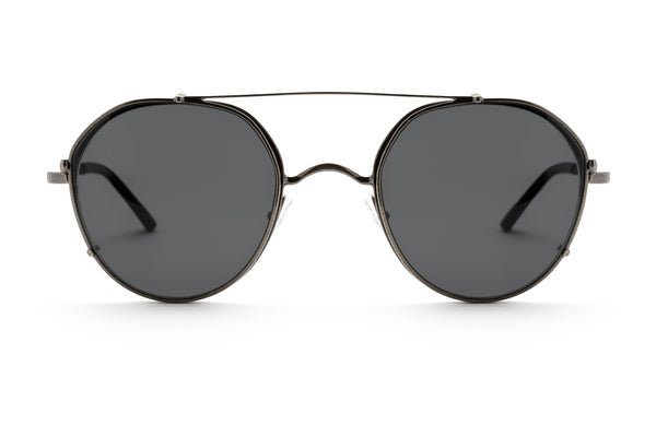 Dax round optical frame in black